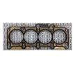 RIDEX Těsnění hlavy válců AUDI Tloušťka/síla: 1,35mm, kovové vrstvené těsnění