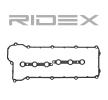 OEM Gasket Set, cylinder head cover RIDEX 979G0045