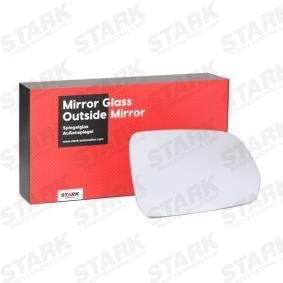 Spiegelglas, Außenspiegel mit OEM-Nummer 6Q0 857 522 K