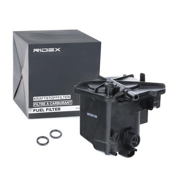 Inline fuel filter RIDEX 9F0004 expert knowledge