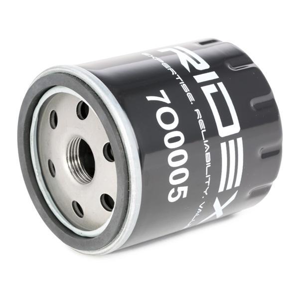 Filtro de aceite de motor RIDEX 7O0005 4059191236213