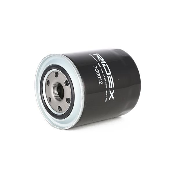 Oil Filter RIDEX 7O0012 4059191236480