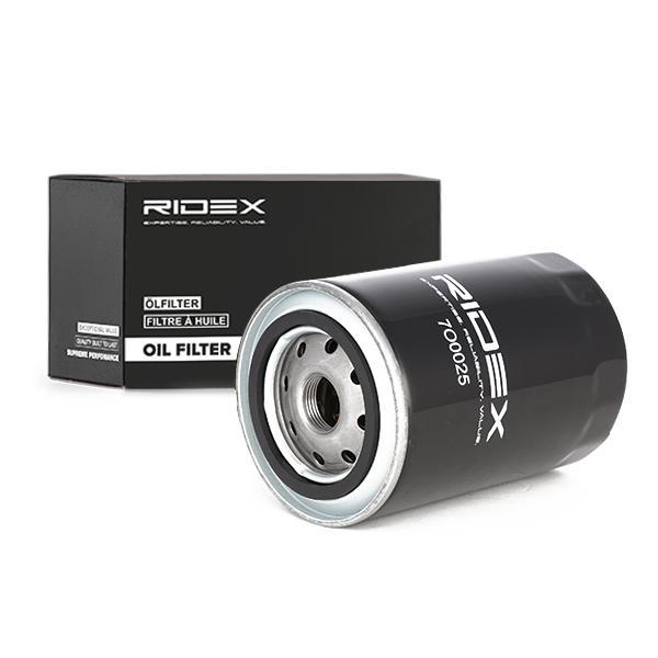 Motorölfilter 7O0025 RIDEX 7O0025 in Original Qualität