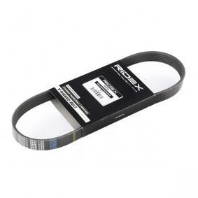 RIDEX  305P0195 Keilrippenriemen Länge: 730mm, Rippenanzahl: 6, angetriebene Aggregate: angetr. Agg.: Generator