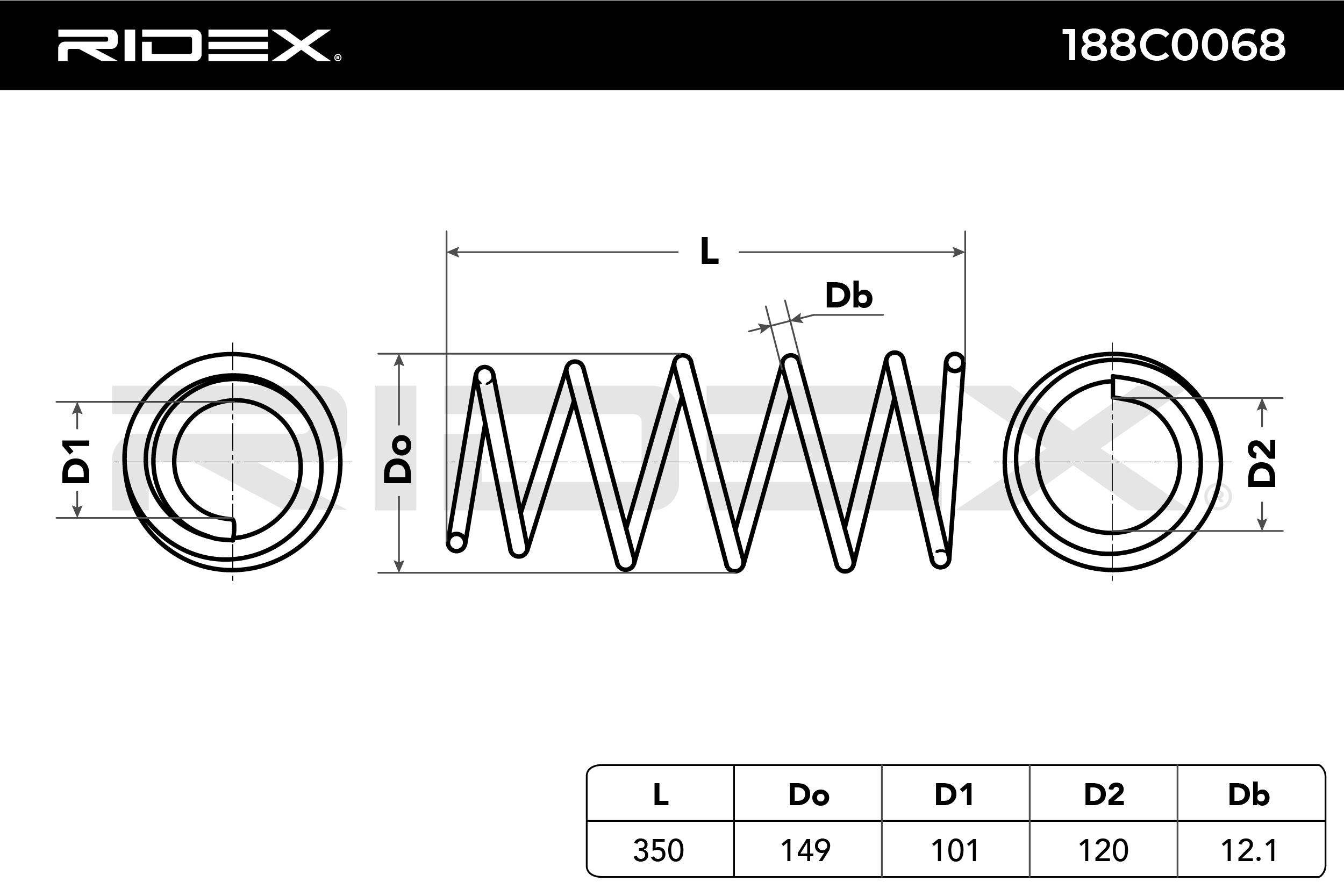 Beliebte 188C0068 RIDEX