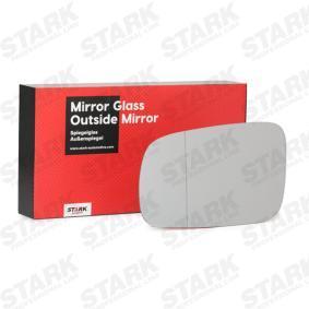 Spiegelglas, Außenspiegel mit OEM-Nummer 3B1 857 521