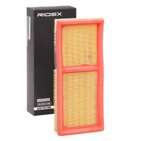 Luftfilter Länge: 270mm, Breite: 117mm mit OEM-Nummer 05098424AA