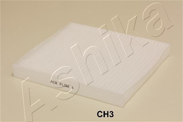 ASHIKA  21-CH-CH3 Filter, Innenraumluft Länge: 216mm, Breite: 195mm, Höhe: 25mm