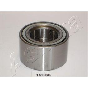 Juego de cojinete de rueda 44-12036 COROLLA (ZZE12_, NDE12_, ZDE12_) 2.0D-4D (CDE120R_, CDE120L_) ac 2004