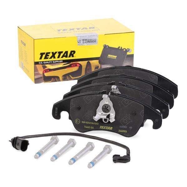 Bremsklötze TEXTAR 2440919415 Erfahrung