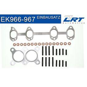Touran 1T1, 1T2 1.6 Montagesatz, Abgasanlage LRT EK966-967 (1.6 Benzin 2006 BSF)