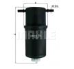 OEM KNECHT 0072383456 VW CRAFTER Fuel filter