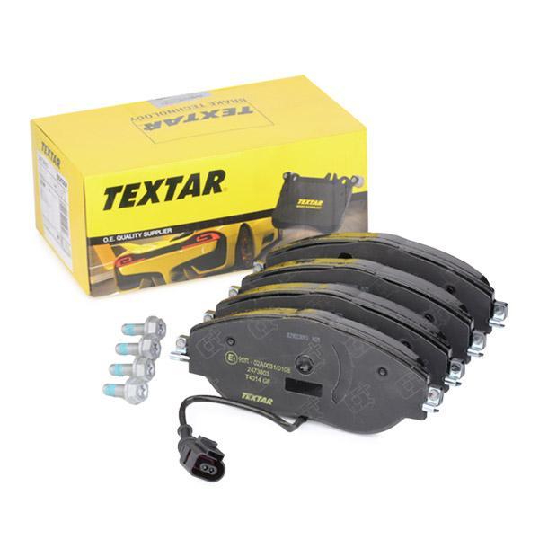 TEXTAR  2473803 Brake Pad Set, disc brake Width: 175,2mm, Height: 69,5mm, Thickness: 20mm