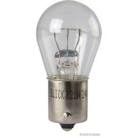 Glühlampe 24V 21W, P21W, BA15s 89901317