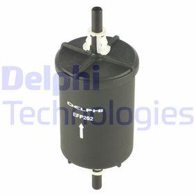 Touran 1T1, 1T2 2.0FSI Kraftstofffilter DELPHI EFP202 (2.0 FSI Benzin 2003 AXW)