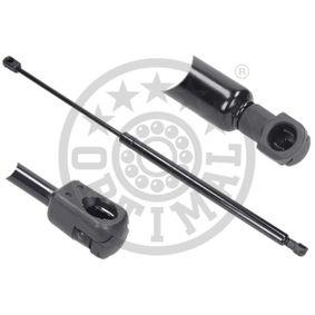Heckklappendämpfer / Gasfeder Länge über Alles: 536mm, Hub: 210mm mit OEM-Nummer 8X4 827 552