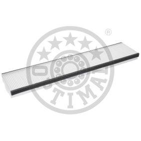 Filter, Innenraumluft Länge: 510mm, Breite: 110mm, Höhe: 30mm mit OEM-Nummer 7 180 932