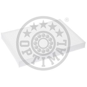 OPTIMAL Filter, Innenraumluft FC-01611 für AUDI A4 Avant (8E5, B6) 3.0 quattro ab Baujahr 09.2001, 220 PS