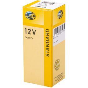 Bulb, instrument lighting P27/7W, P27/7W, 12V 8GD 007 731-271