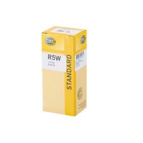 Крушка с нагреваема жичка, светлини на рег. номер R5W, BA15D, 12волт, 5ват 8GA 002 071-371