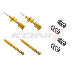 Schraubfahrwerkssatz VW PASSAT Variant (3B6) 1.9 TDI 130 PS ab 11.2000 KONI Fahrwerkssatz, Federn/Dämpfer (1140-7942) für