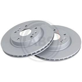 Bremsscheibe Bremsscheibendicke: 22mm, Felge: 5-loch, Ø: 280mm mit OEM-Nummer 55311-61M00