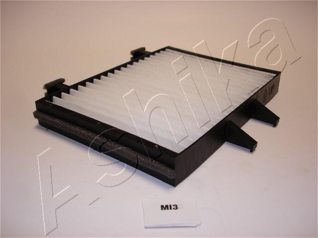 ASHIKA  21-MI-MI3 Filter, Innenraumluft Länge: 220mm, Breite: 210,6mm, Breite 1: 157mm, Höhe: 25mm
