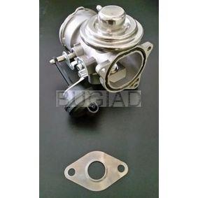 BUGIAD AGR-Ventil 54020 für AUDI A4 (8E2, B6) 1.9 TDI ab Baujahr 11.2000, 130 PS