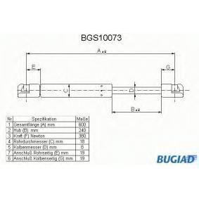 Heckklappendämpfer / Gasfeder mit OEM-Nummer 9602754380