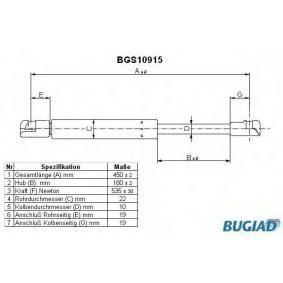 Газов амортисьор, багажно / товарно пространство BGS10915 Golf 5 (1K1) 1.9 TDI Г.П. 2006