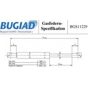 Heckklappendämpfer / Gasfeder BGS11229 TWINGO 2 (CN0) 1.2 Turbo Bj 2018