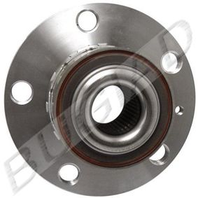 Radlagersatz Ø: 72mm mit OEM-Nummer 6Q0 407 621AJ