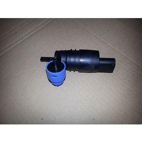 Waschwasserpumpe, Scheibenreinigung Spannung: 12V, Anschlussanzahl: 2 mit OEM-Nummer 1J6955651