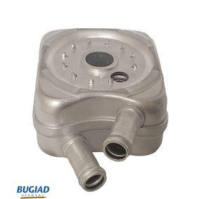 BUGIAD Ölkühler, Motoröl BSP20295 für AUDI A6 (4B2, C5) 2.4 ab Baujahr 07.1998, 136 PS