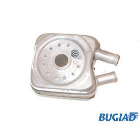 BUGIAD Ölkühler, Motoröl BSP20296 für AUDI A3 (8P1) 1.9 TDI ab Baujahr 05.2003, 105 PS