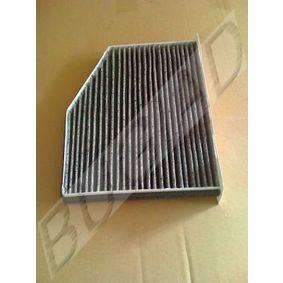 Filter, Innenraumluft Breite: 312mm mit OEM-Nummer 1K1 819 653A