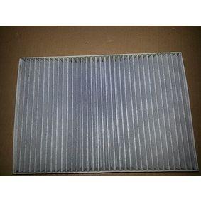 BUGIAD Filter, Innenraumluft BSP20651 für AUDI A4 (8E2, B6) 1.9 TDI ab Baujahr 11.2000, 130 PS
