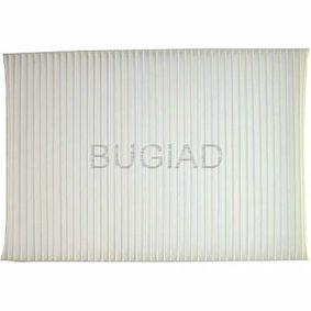 BUGIAD Luftfilter BSP20656 für AUDI A4 (8E2, B6) 1.9 TDI ab Baujahr 11.2000, 130 PS