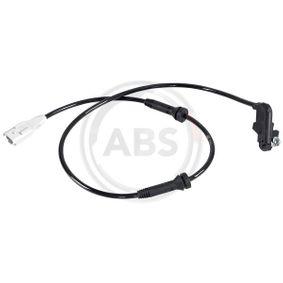 A.B.S. Sensor, Raddrehzahl 31196 für PEUGEOT 307 SW (3H) 2.0 16V ab Baujahr 03.2005, 140 PS