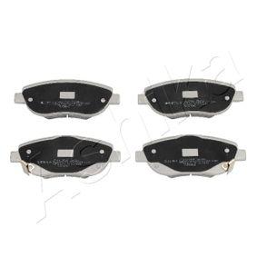 Bremsbelagsatz, Scheibenbremse Höhe: 61mm, Dicke/Stärke: 19mm mit OEM-Nummer 0446505260