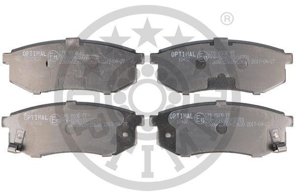 Bremsbeläge 10432 OPTIMAL 10432 in Original Qualität