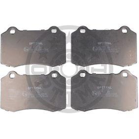 Bremsbelagsatz, Scheibenbremse Höhe: 69mm, Dicke/Stärke: 17,4mm mit OEM-Nummer 4254 C6