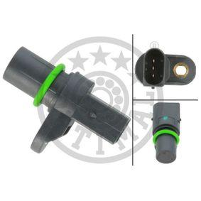 Sensor, Nockenwellenposition Pol-Anzahl: 3-polig mit OEM-Nummer 14 35 3 51