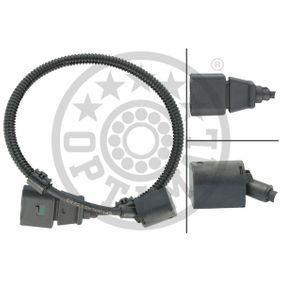 Sensor, posición arbol de levas Número de polos: 3polos, Long. cable: 358mm con OEM número 038 957 147 G