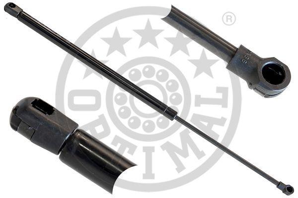OPTIMAL  AG-40080 Heckklappendämpfer / Gasfeder Länge über Alles: 555mm, Hub: 214mm