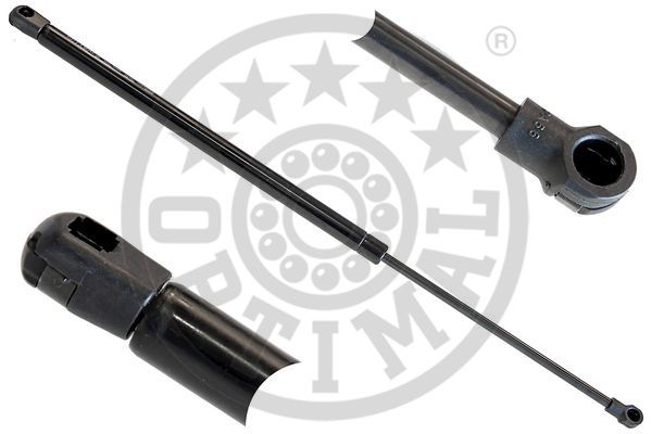 OPTIMAL  AG-40080 Gas Spring, boot- / cargo area Total Length: 555mm, Stroke: 214mm