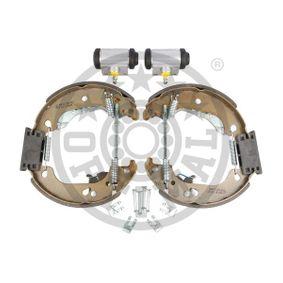Brake Set, drum brakes BK-5166 PUNTO (188) 1.2 16V 80 MY 2002