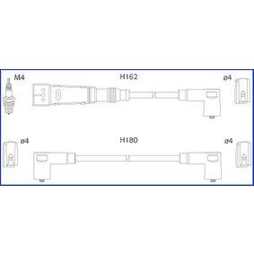HITACHI Zündleitungssatz 134715 für AUDI 90 (89, 89Q, 8A, B3) 2.2 E quattro ab Baujahr 04.1987, 136 PS