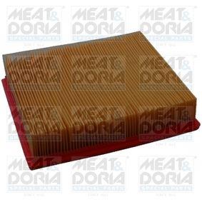 Luftfilter Länge: 245mm, Breite: 178mm, Höhe: 57mm mit OEM-Nummer 13721744869