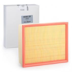 MEAT & DORIA Luftfilter 16545 für AUDI A6 (4B2, C5) 2.4 ab Baujahr 07.1998, 136 PS